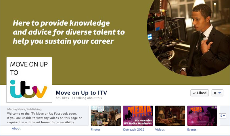 Screenshot from ITV Facebook page