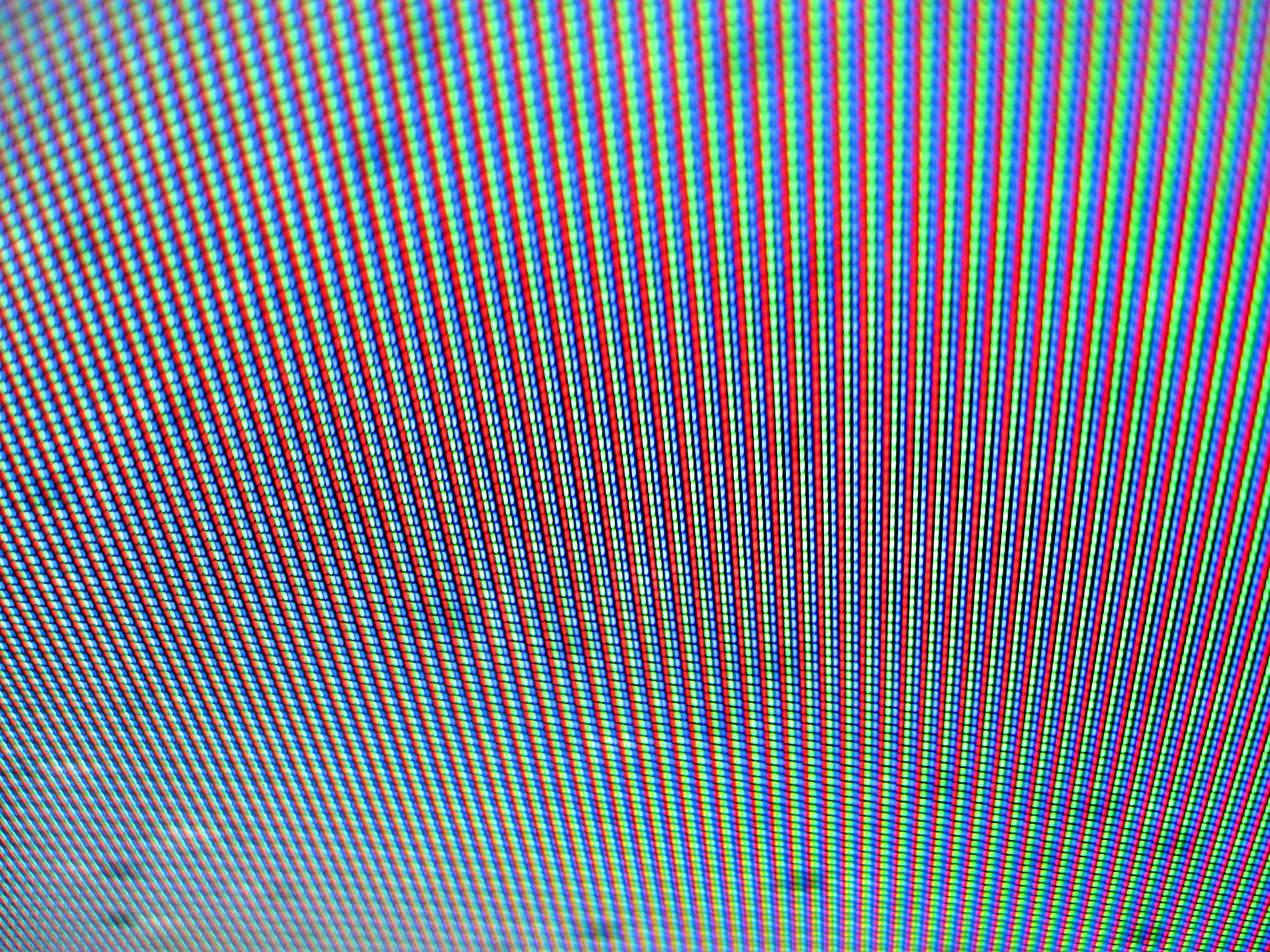 Abstract image of television pixels